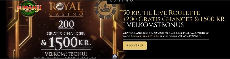 Royal Casino velkomstbonus