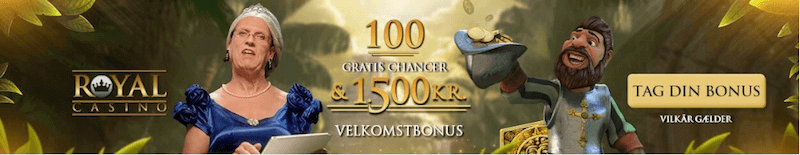 Royal Casino velkomstbonus 2018